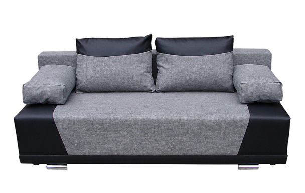 YORK Sofa (Sawana 21 Grey/Soft 11 Black)