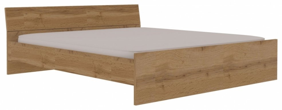 Wotan TA 24/160+ST 160x200 Bed with wooden frame