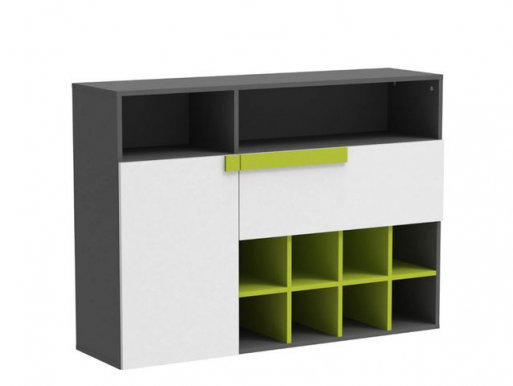 Lobo Small chest with shelfs