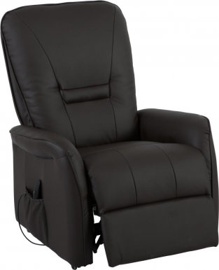 Dr.Max DM02007 Armchair With electro recliner and lift (Noir Chocolate 8871)