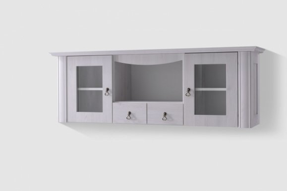 Mlotmeb D-A-16 Wall glass-fronted cabinet