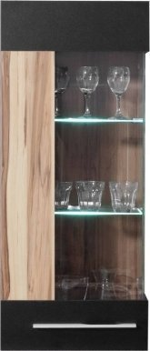 Monsun MN11L LED Wall glass-fronted cabinet