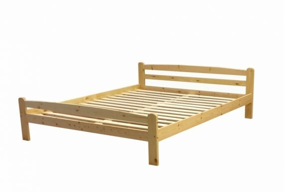 L-A 160x200 Bed with slats