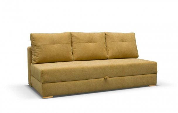 DAFNE Sofa-bed (fabric yellow VARDO 68)