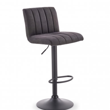 V-CH-H/89 Bar stool (Grey)