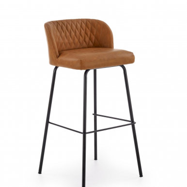 V-CH-H/92-J.B Bar stool (Light brown)