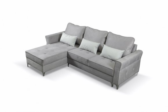 Broadway mini Grey (Viton 200+199) Universal L/R Corner sofa
