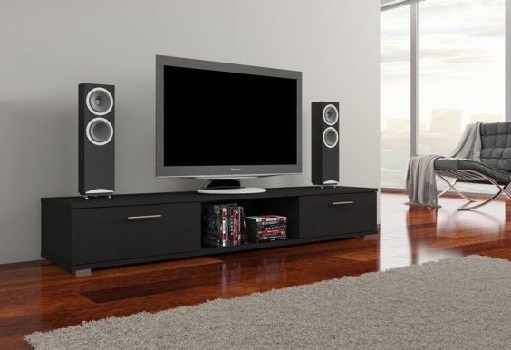 Aridea Ar01 TV cabinet Black mat