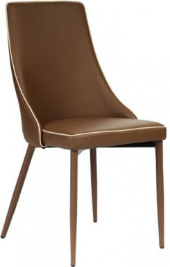 POLO Chair cacao/beige line