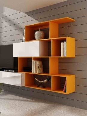 Vigo shelf orange mat