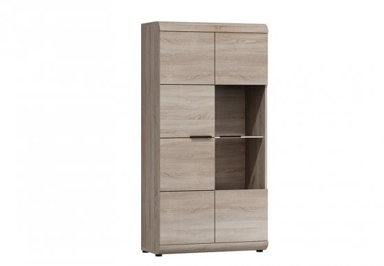 Laslink WIT N 80 Glass-fronted cabinet