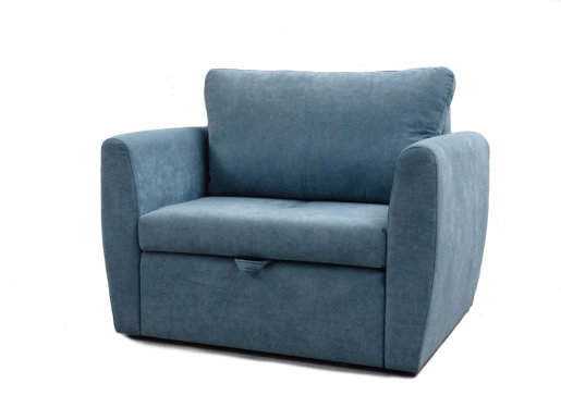 Bela 1 Sofa-bed (Blue fabric Alfa 14)