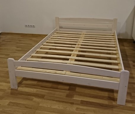 L-A 140x200 Bed with slats