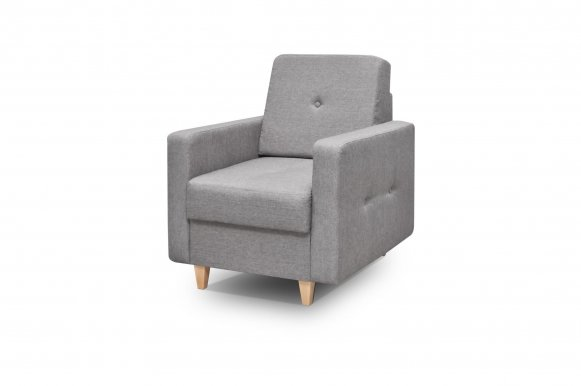 Tango Armchair (Grey fabric Drago 135)