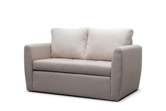 Bela 2 Sofa-bed (Cappuccino fabric Metro 11+04)