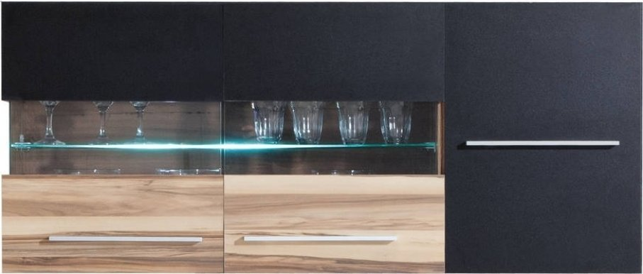 Monsun MN10 LED Wall glass-fronted cabinet
