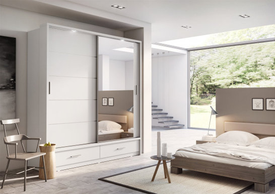 ArtiAR -05 Sliding door wardrobe with lighting 200cm