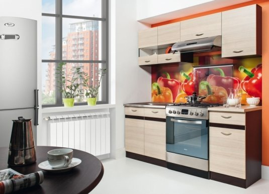 Eliza 180 cm Kitchen Rijeka light