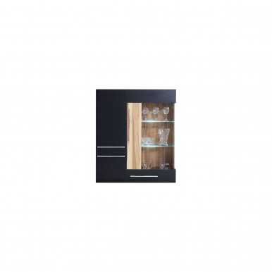 Monsun MN9 LED Wall glass-fronted cabinet