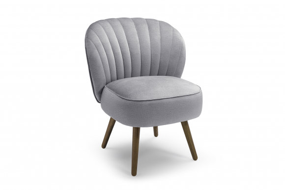 Astor Armchair (Light grey fabric Monolith 84)