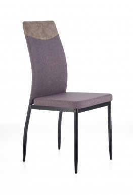 V-CH-K/276-KR- C.P Chair (Dark grey)