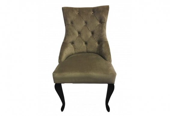 HILTON Chair dark walnut/brown