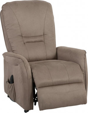 Dr.Max DM02007 Armchair With electro recliner and lift (Brown-Gray 16G)