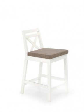 BORYS LOW Bar stool White Inari 23