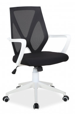 Q-258 Office chair Black/white