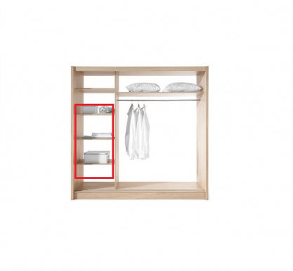 Wegas 3D Shelves in option