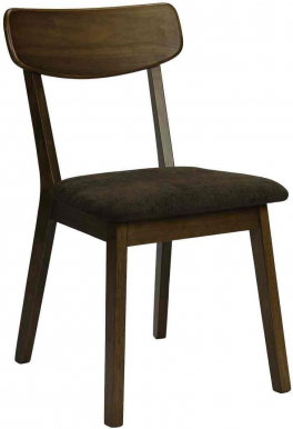 MOROCCO Chair walnut/brown