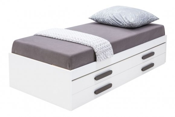 REPLAY RP-18/RP-19 Double bed with mattresses+Handles to RP-19