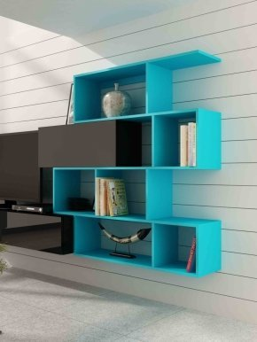 Vigo shelf bright blue